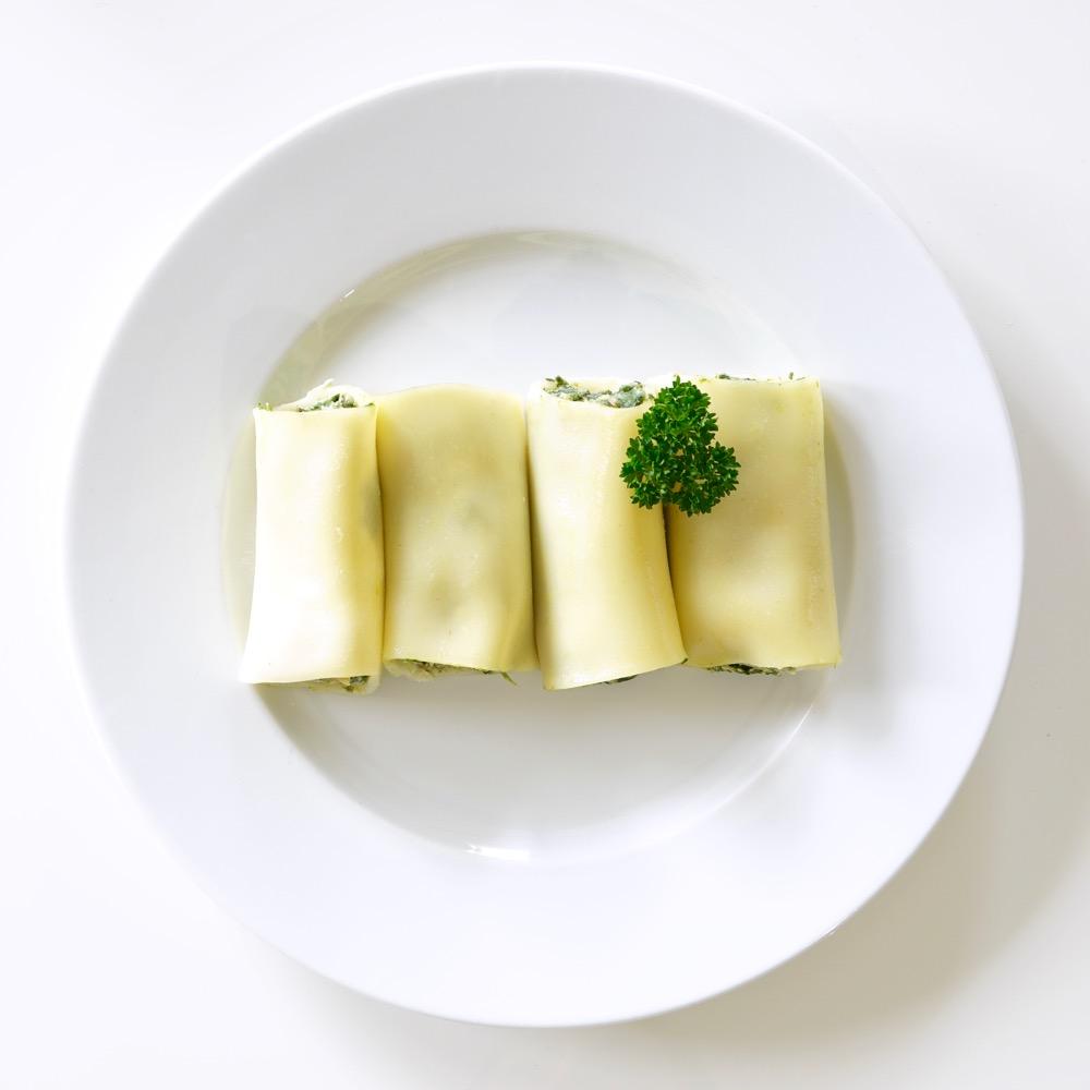 Cannellonis saumon et épinards