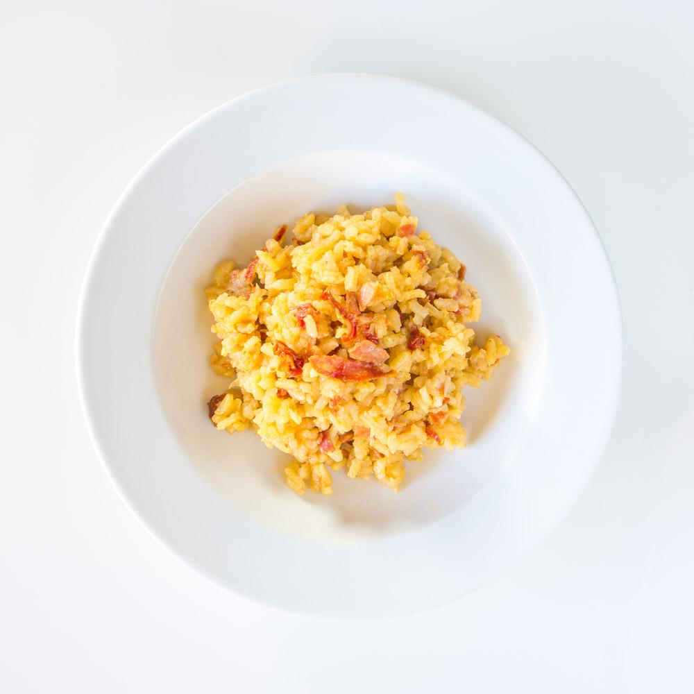 Risotto tomate séchée et chorizo