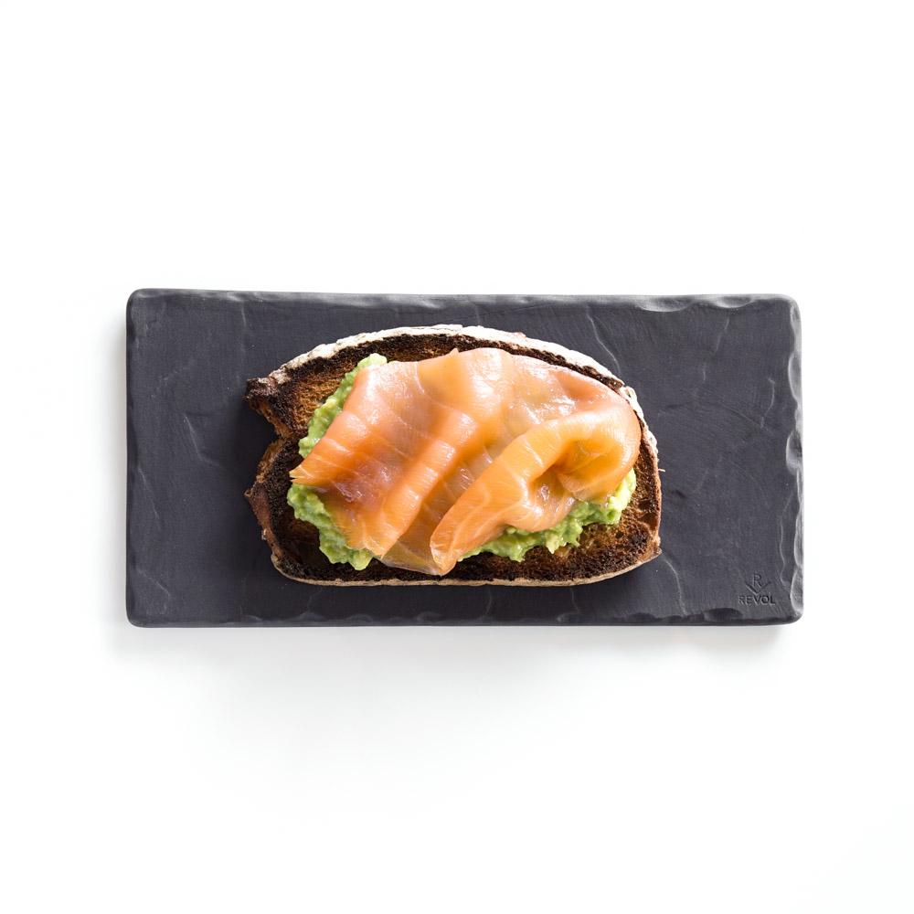 Tartine saumon avocat